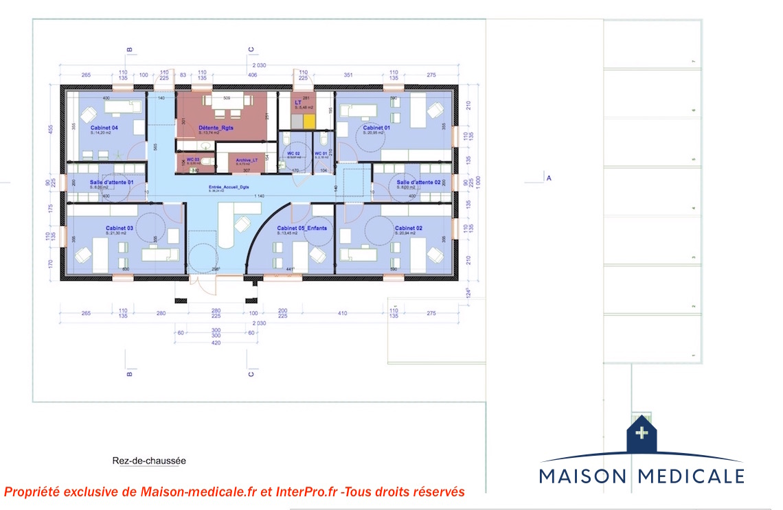 Plan interieur maison moderne 28 images plan maison for Plan interieur de maison moderne